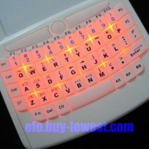 wireless handheld keyboard - 3rd generation wireless handheld keyboard - 3rd generation (backlite)