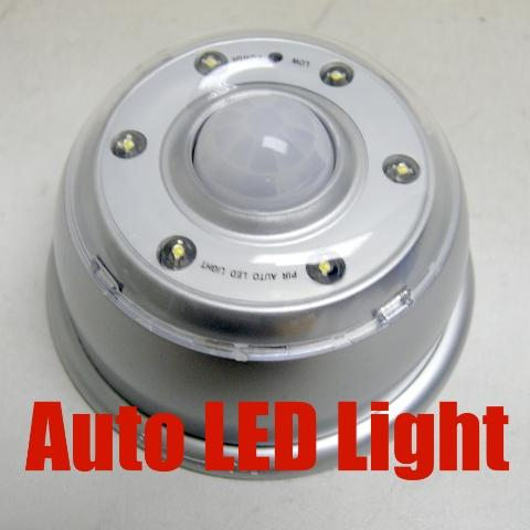 IR Wireless Motion Detection Auto LED Light