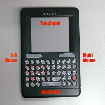 Wired Handheld Keyboard,Mouse and Touchpad Detail