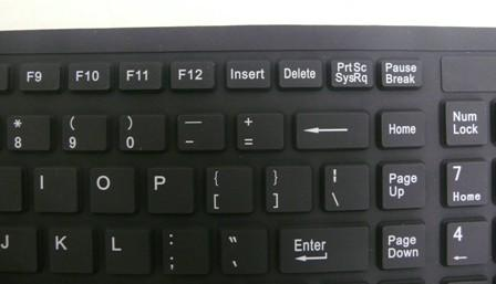 Foldable Keyboard Keys