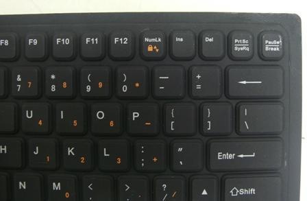 Foldable Keyboard Keys