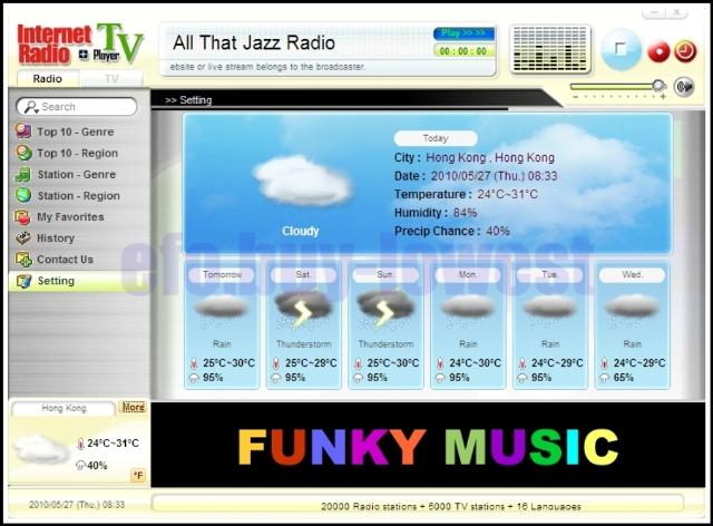 USB TV Radio Weather