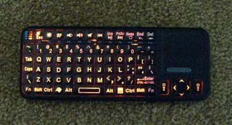 EFO Google TV Mini Wireless Keyboard - Backlite