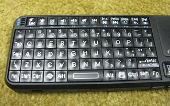 EFO Google TV Mini Wireless Keyboard - Keys