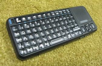 EFO Google TV Mini Wireless Keyboard - Side