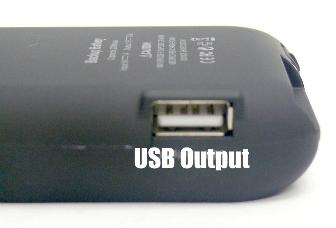 iPhone 4/4G Power Pack - Interface