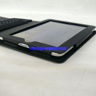 iPad Bluetooth Keyboard with folding leather protective case - interface