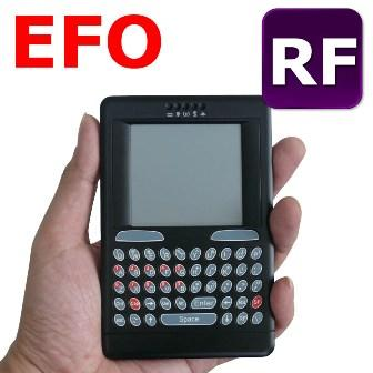 USB EFO RF Wireless Keyboard | HTPC Remote Controller