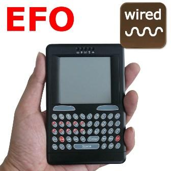 EFO Wired handheld keyboard, mouse and touchpad